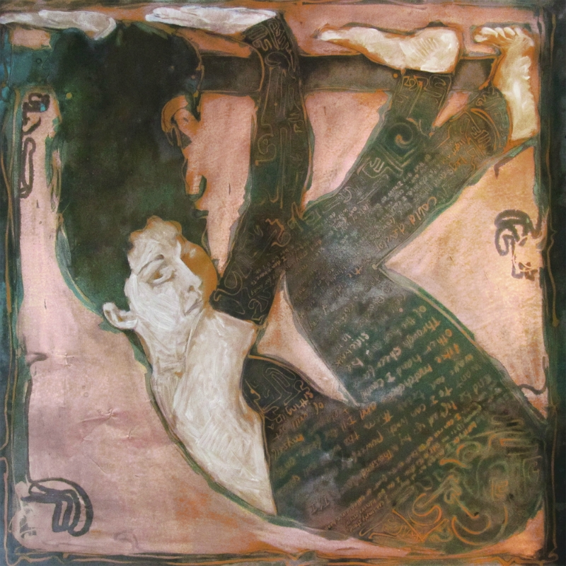 "<br><font size=""4"" style=""font-family:verdana; color:white;"">'Rest for Dancers' • 48x48 inches • Private Collection</font>"